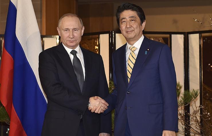 Putin, Abe