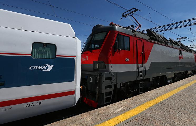 A Swift high speed train