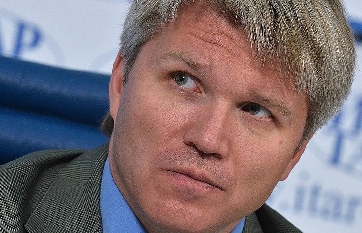 Sports Minister Pavel Kolobkov