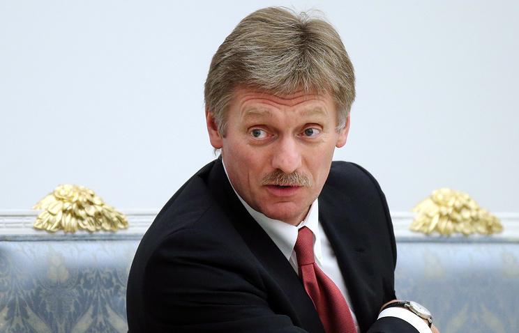 Russian president's press secretary Dmitry Peskov