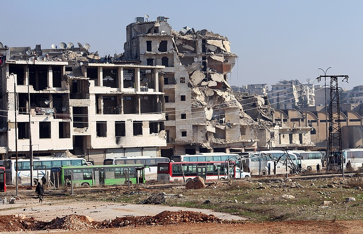 Evacuation of civilians from Aleppo