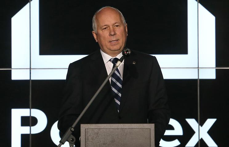 Rostec head Sergey Chemezov
