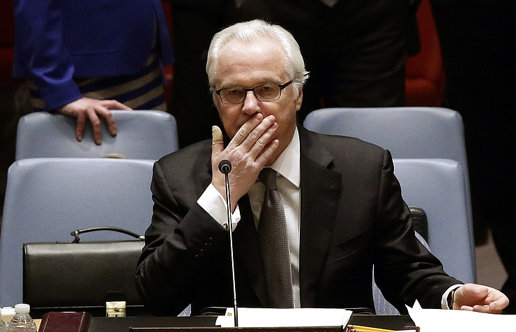 Russian Ambassador to the UN Vitaly Churkin