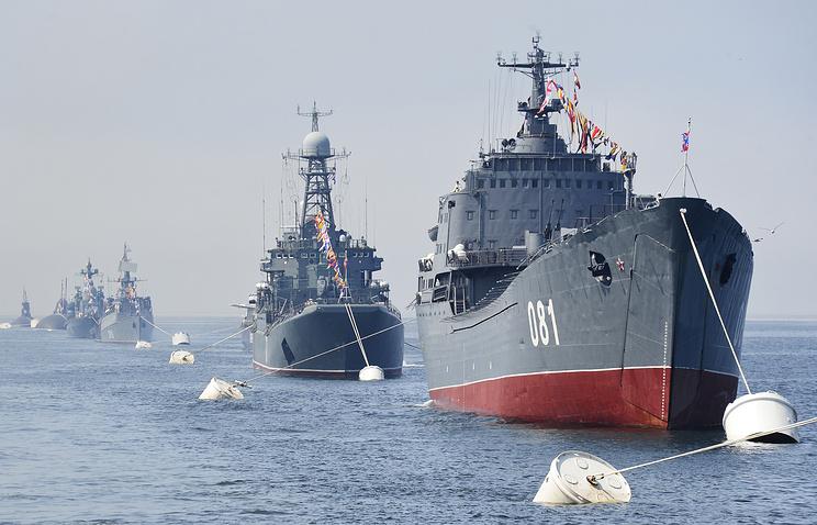 Ships of Russia's Pacific Fleet