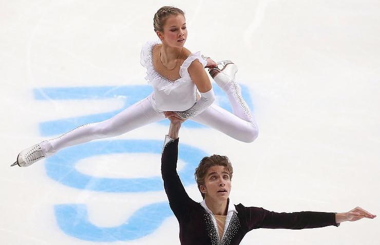 Alisa Yefimova and Alexander Korovin