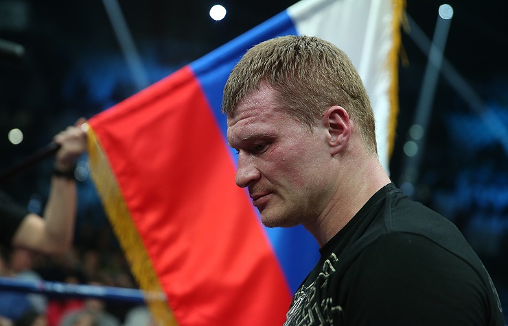 Russian heavyweight boxer Alexander Povetkin