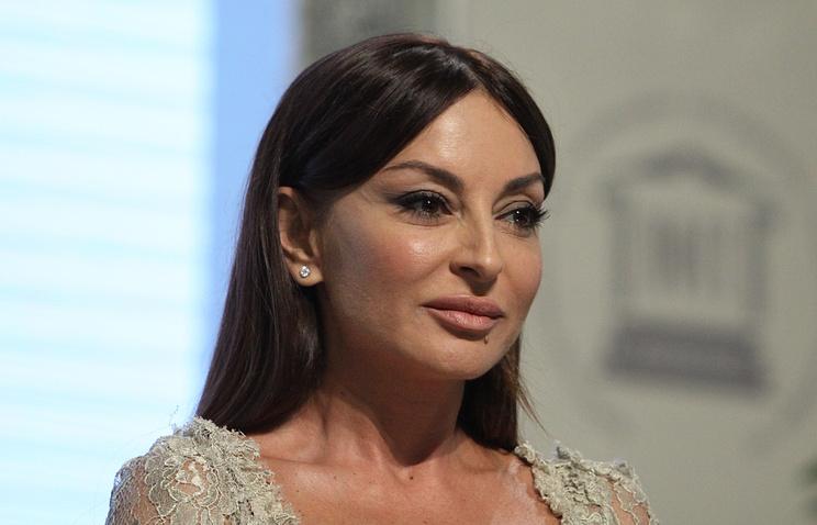 Azerbaijan's first lady Mehriban Aliyeva