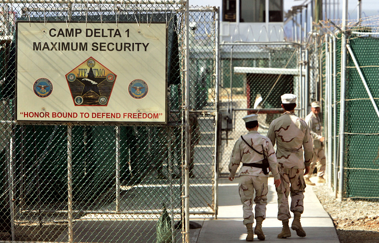 Military-run prison at the Guantanamo Bay
