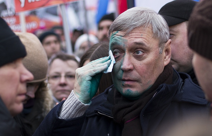 Leader of the PARNAS Party Mikail Kasyanov