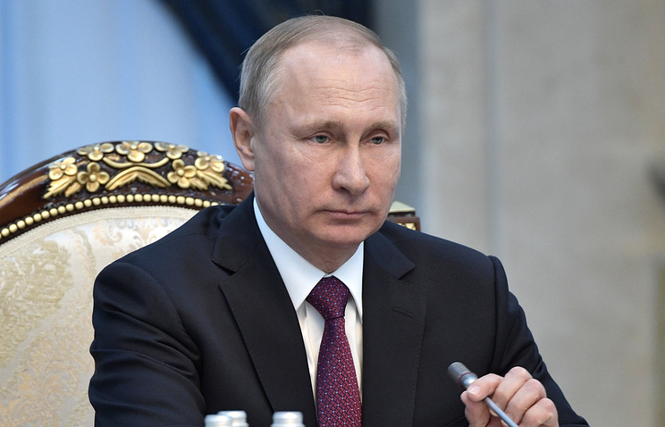 Putin: Russia Won't Support New Sanctions against Syrian Gov't