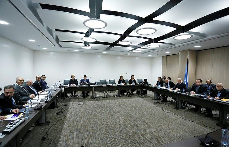 Syrian reconciliation talks in Geneva