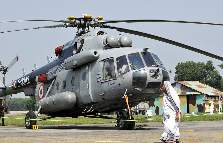 Indian Air Force's Mi-17 helicopter