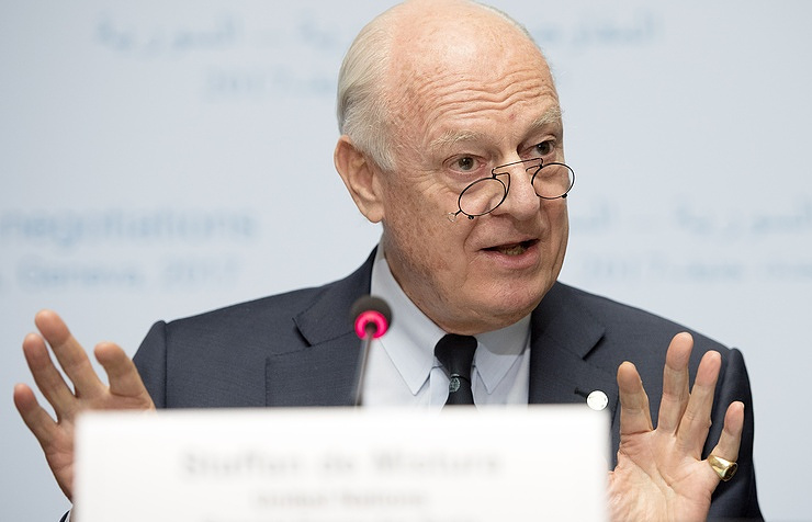 New round of Syria talks set for March 23, UN Envoy says