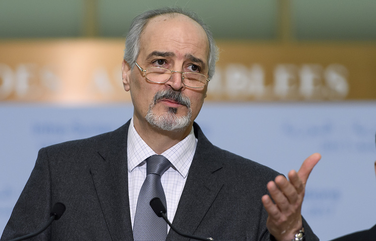 Syria's envoy to the UN Bashar Jaafari