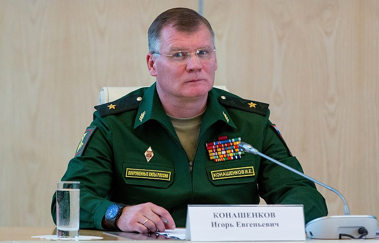Maj. Gen. Igor Konashenkov, an official spokesman of the Russian Defense Ministry