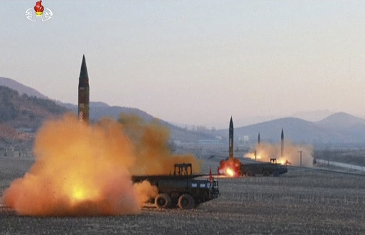 North Korean missile explodes shortly after launch An error occurred