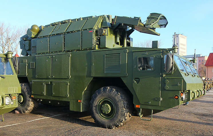 Tor-M2 short-range anti-aircraft missile system