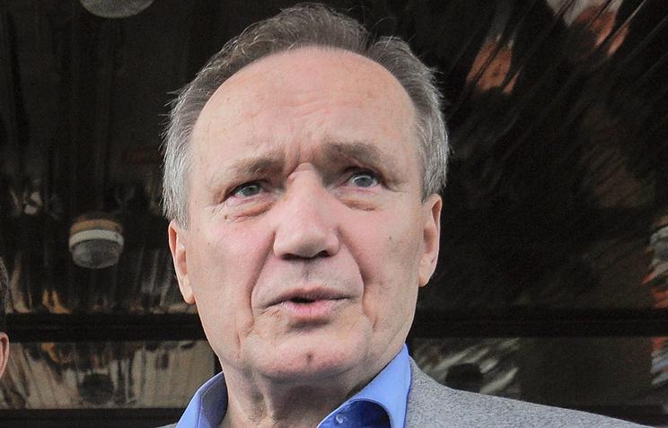 Belarusian opposition leader Vladimir Neklyayev