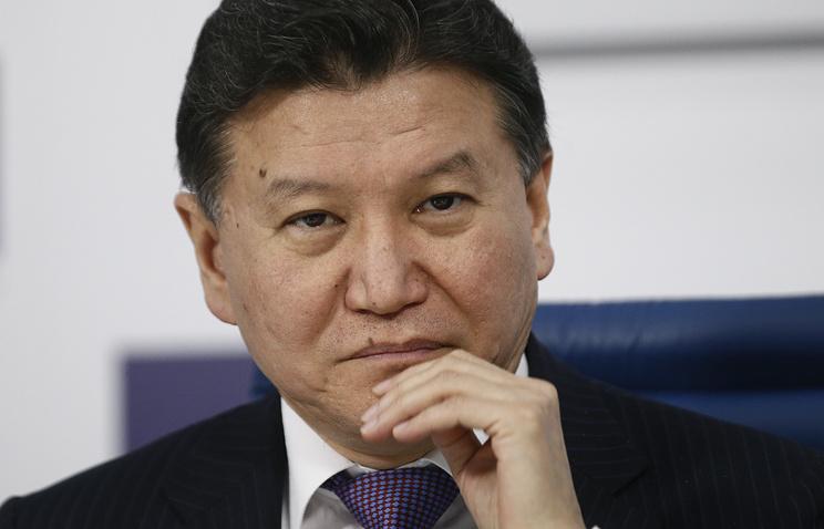 FIDE President Kirsan Ilyumzhinov