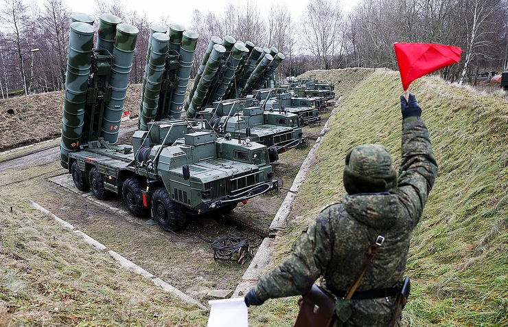 S-400 surface-to-air missile systems