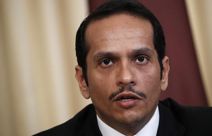 Qatar's Foreign Minister Sheikh Mohammed bin Abdulrahman bin Jassim Al-Thani