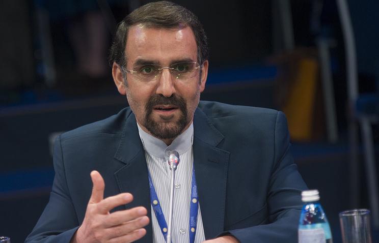 Iranian Ambassador to Russia, Mehdi Sanai