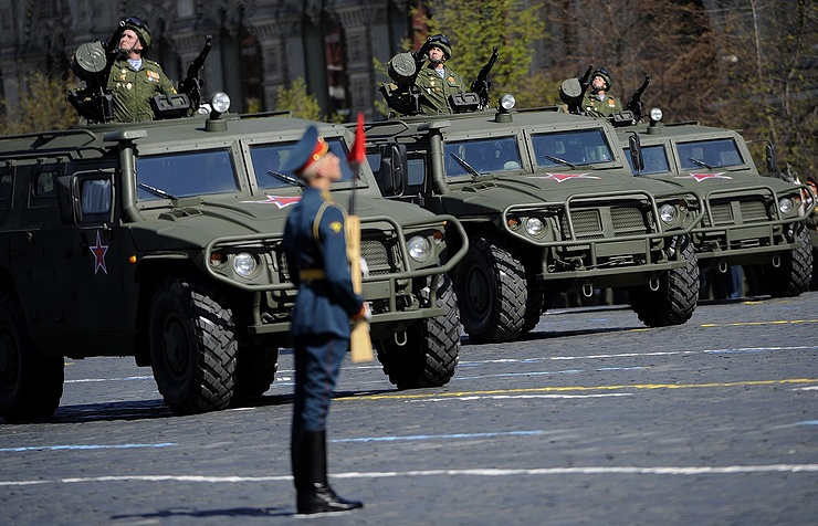 Tigr armored vehicles