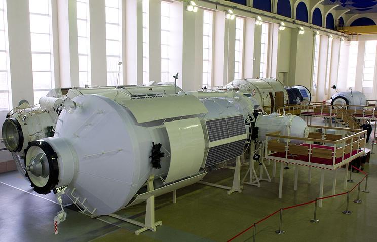 International Space Station mock-up training module