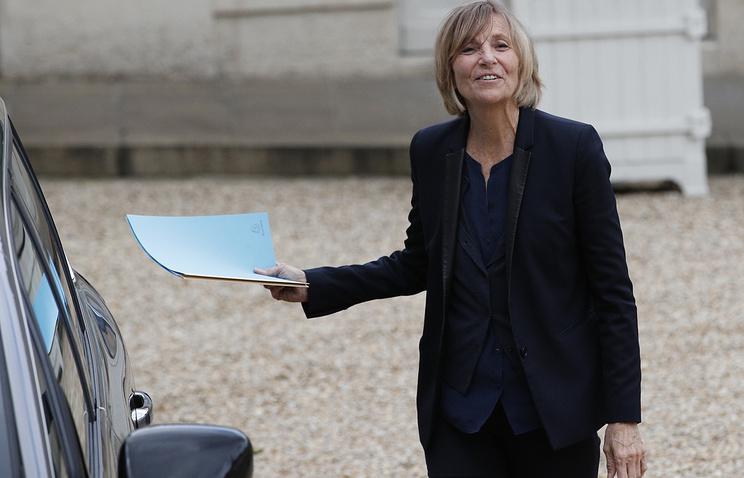 French Minister for European Affairs Marielle de Sarnez