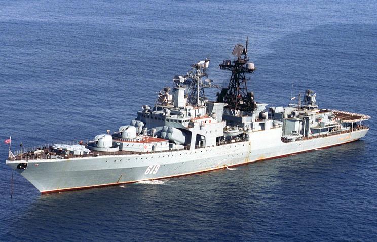 Severomorsk large anti-submarine destroyer