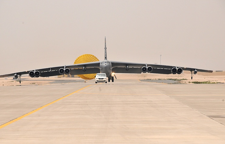 B-52 strategic bomber