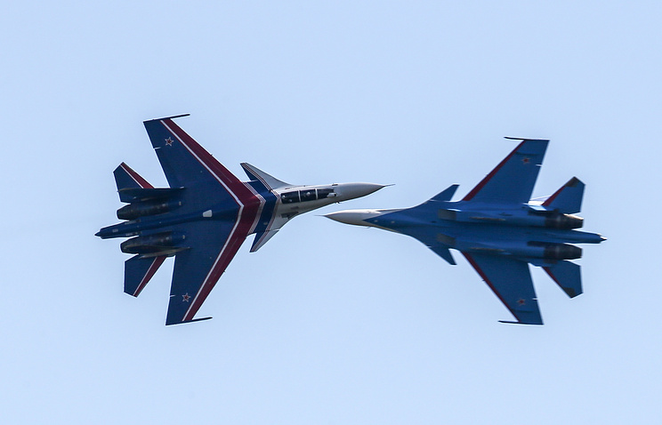 Su-30SM fighter jets