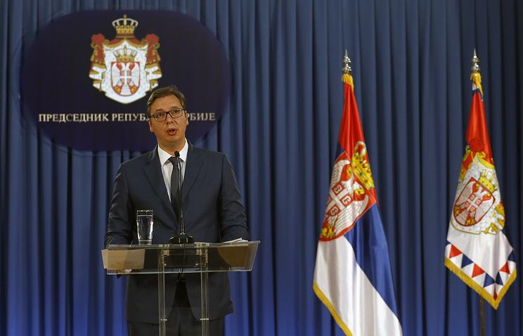 Serbian President Aleksandar Vucic