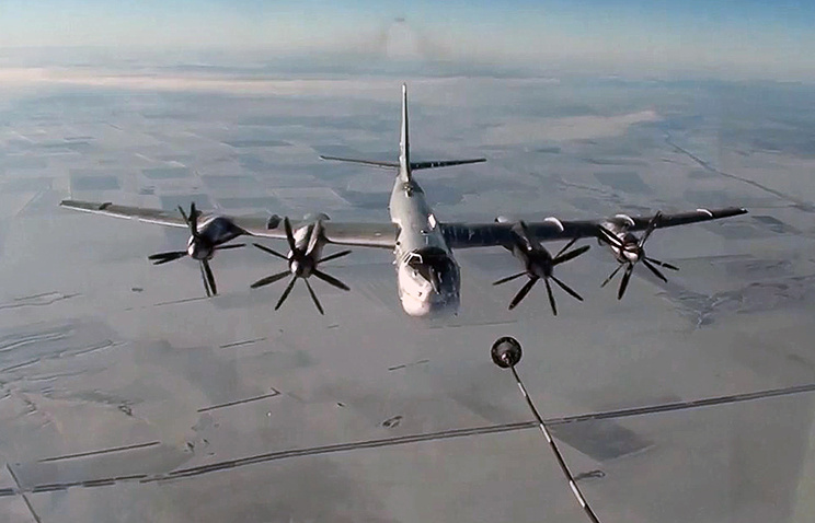 Tu-95MS strategic missile carrier