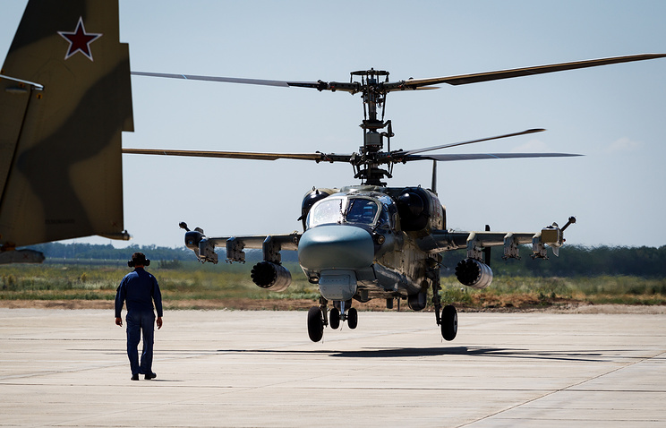 Ka-52 Alligator attack helicopter