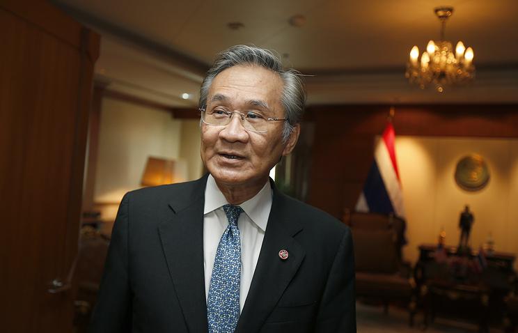 Thai Minister of Foreign Affairs Don Pramudwinai