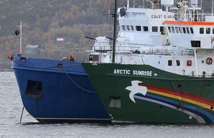 Russian Federation  ordered to pay €5.4m compensation in Greenpeace case