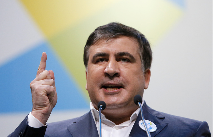 Decision to strip Saakashvili of Ukrainian citizenship 'not Kremlin's problem'