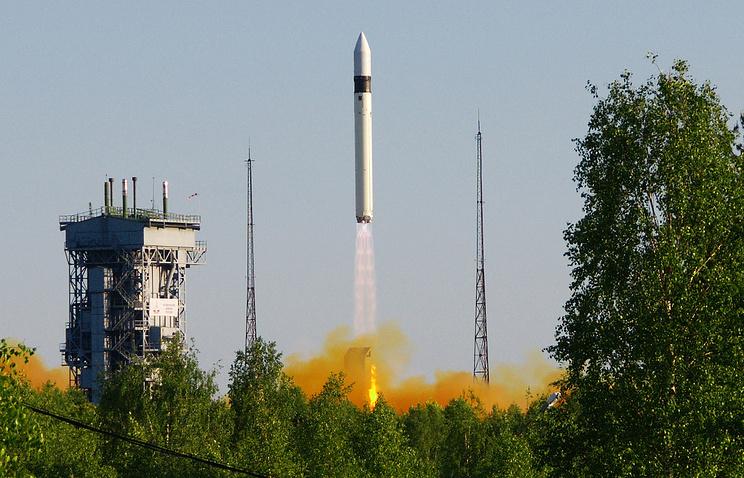 Russian booster vehicle Rokot