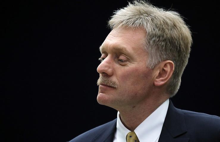 Kremlin's press secretary Dmitry Peskov