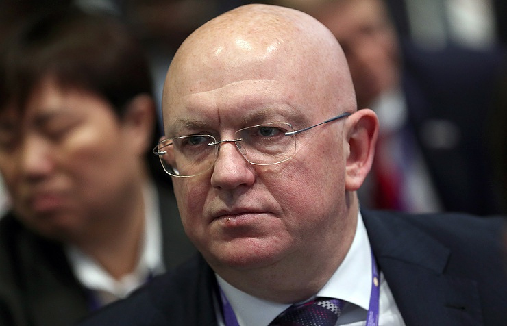 Russia's Permanent Representative to the UN Vasily Nebenzya