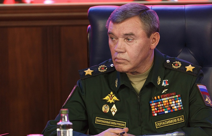 Chief of Russian General Staff Valery Gerasimov
