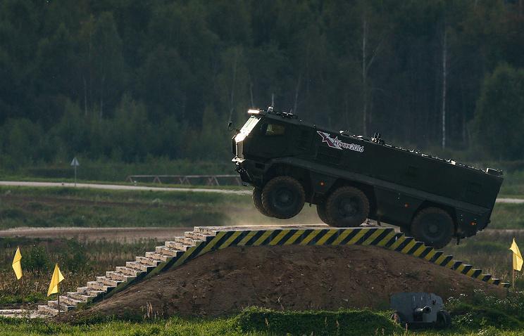 KamAZ 63968 Typhoon armoured vehicle