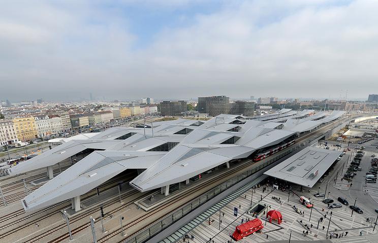 Vienna's Central Railway Station