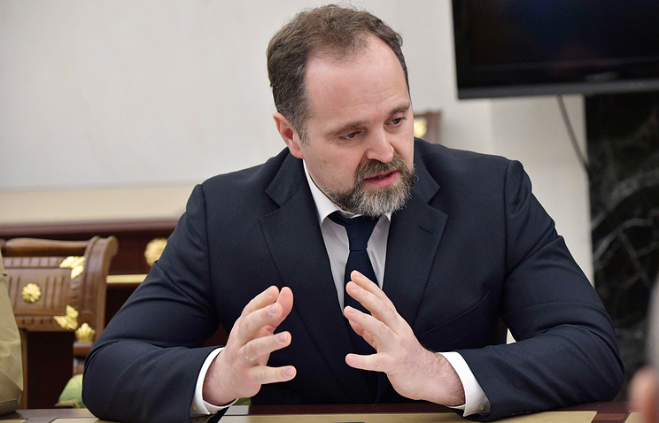 Russia's Natural Resources and Environment Minister Sergei Donskoi