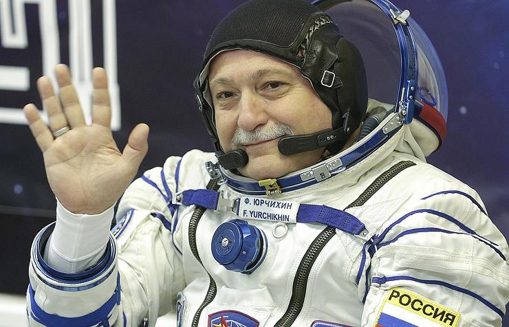 Russian cosmonaut Fyodor Yurchikhin