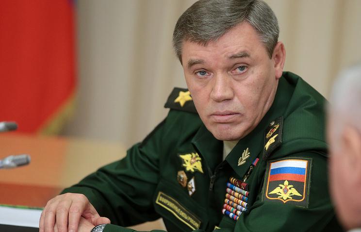 Chief of Russia's General Staff, Valery Gerasimov