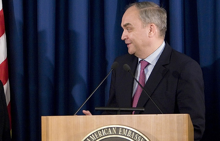 Russia's Ambassador to the United States Anatoly Antonov