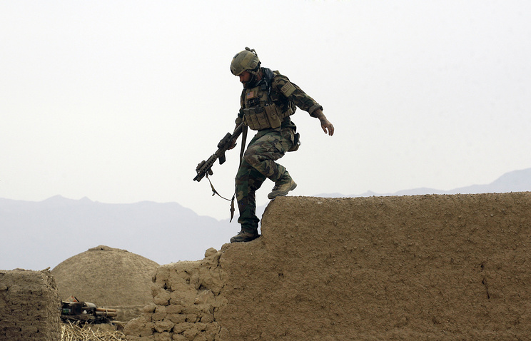 US special operations forces soldier