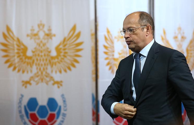 Russian Football Premier League chief Sergey Pryadkin